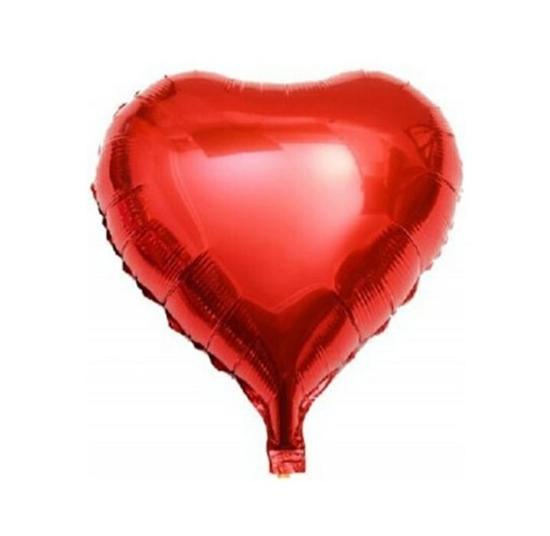 بادکنک فویلی قلب قرمز